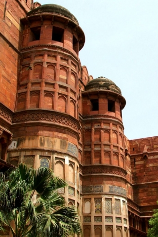 india-fabric-food-tour-agra-fort-sightseeing