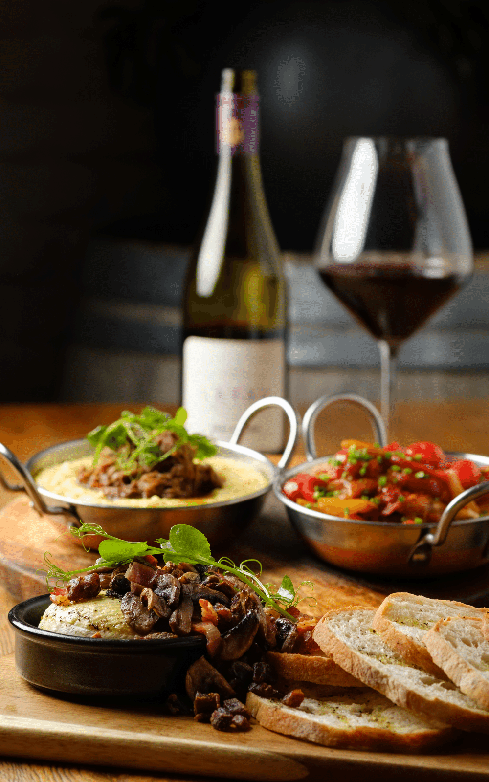 The Bannockburn Wine Country Hotel.  Welcome Dinner on Crafted Journeys Central Otago Tour
