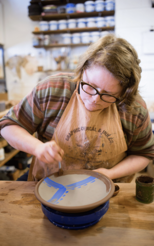 Exclusive Pottery Workshop Class with Victoria Claire Dawes - Crafted Journeys Central Otago Tour